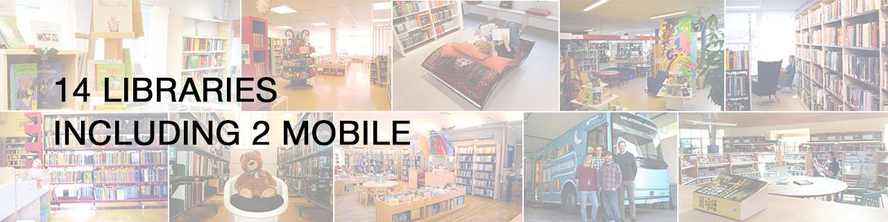 14 libraries including 2 mobile